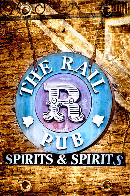 Photograph - The Rail Pub by Mark Andrew Thomas