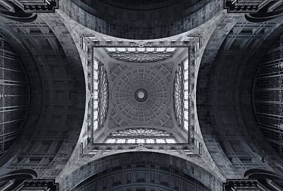 Belgium Photograph - The Railroad Cathedral by Jeroen Van De Wiel