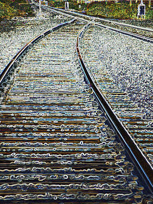 Photograph - The Rails Edge by Tim Allen