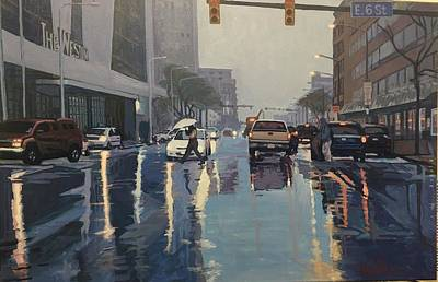 Painting - The Rain by David Buttram