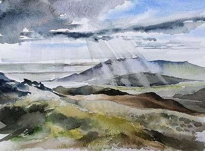 The Rain In Spain Art Print by Stephanie Aarons