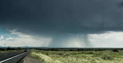 Photograph - The Rain Storm by Nick Mares