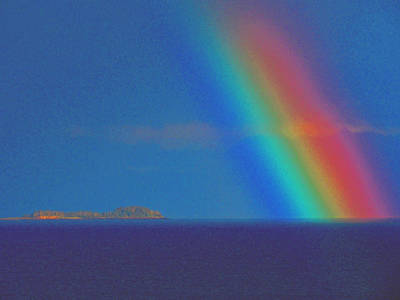 Art Print featuring the photograph The Rainbow by John Hartman