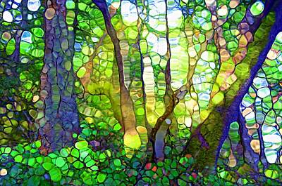 Digital Art - The Rainforest by Tara Turner