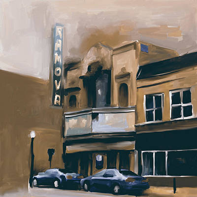 Michigan Theatre Painting - The Ramova Theatre 538 2 by Mawra Tahreem