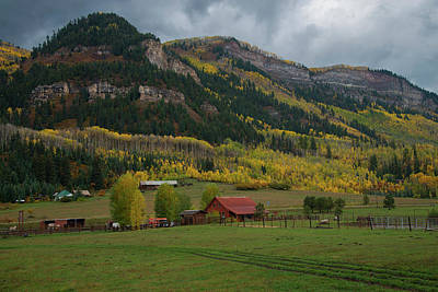 Photograph - The Ranch by Gary Lengyel
