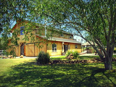 Photograph - The Ranch House by Joyce Dickens