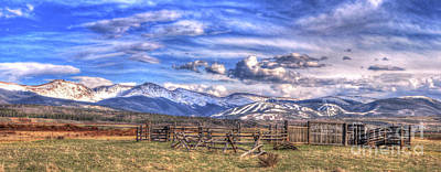 The Ranch Pano Art Print by Scott Mahon
