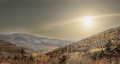 Photograph - The Range, White Mountains  by Debra Forand
