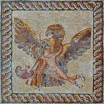 The Rape Of Ganymede. Ancient Art. Original by Andy Za