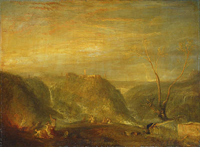 Painting - The Rape Of Proserpine by William Turner