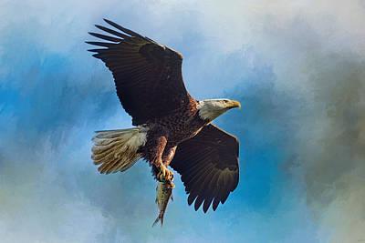 The Raptor's Catch Art Print by Jai Johnson