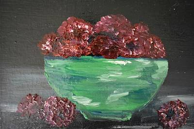 Painting - The Raspberries  by Susan Snow Voidets