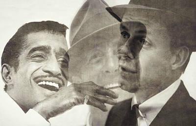 Frank Sinatra Wall Art - Digital Art - The Rat Pack by Paul Lovering