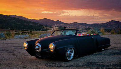 Photograph - The Rat Rod 1950 Studebaker by TL Mair