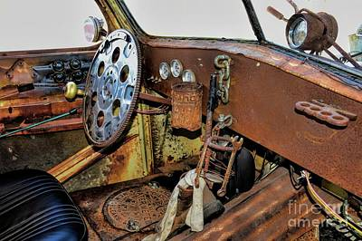 Photograph - A Rats Interior by Diana Mary Sharpton
