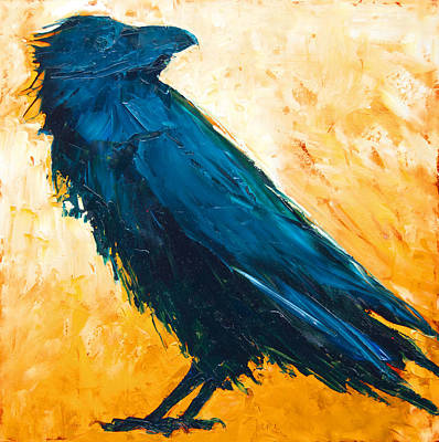Painting - The Raven by Jani Freimann