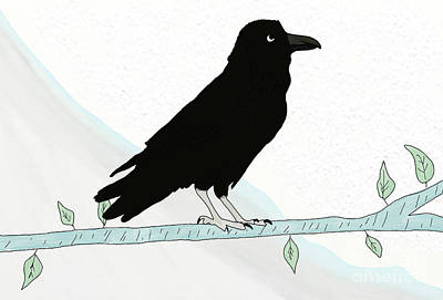 Basketball Patents - The Raven by Priscilla Wolfe