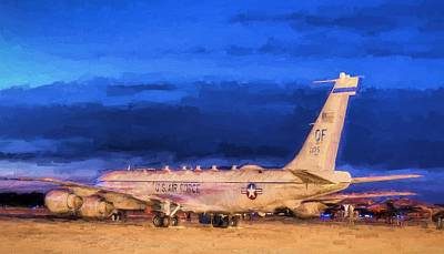 Photograph - The Rc-135 Rivet Joint by JC Findley