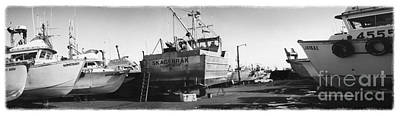 Photograph - The Real Alaska - Dry Dock 2 by Pete Hellmann