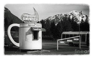 Photograph - The Real Alaska - Espresso by Pete Hellmann