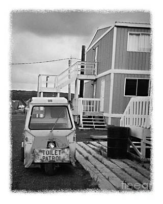 Photograph - The Real Alaska - Toilet Patrol by Pete Hellmann