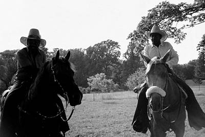Photograph - The Real Cowboys by Deborah  Crew-Johnson