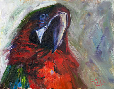 Painting - The Real Mccaw by Billie Colson