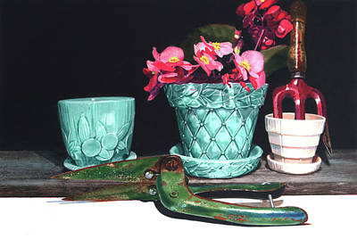 Pottery Painting - The Real Mccoy by Denny Bond