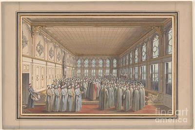 The Reception Of An Ambassador Art Print