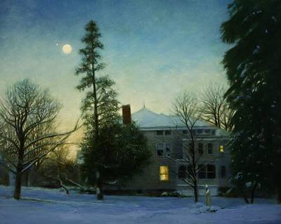 Painting - The Rectory by Wayne Daniels