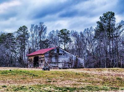 Photograph - The Red Barn by Diana Mary Sharpton
