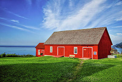 The Red Barn Original by Natidu Photography