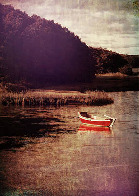 The Red Boat Art Print by JAMART Photography