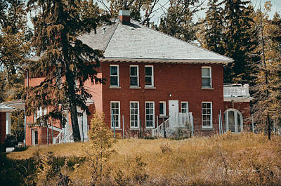 Photograph - The Red Brick House by Maria Angelica Maira