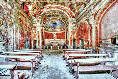 Photograph - The Red Church by Enrico Pelos