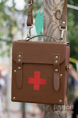 Photograph - The Red Cross by Giovanni Malfitano