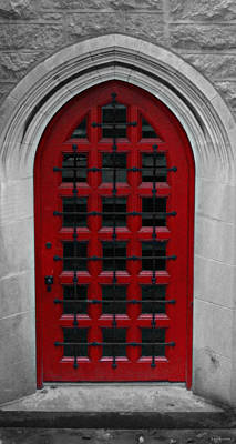 Photograph - The Red Door by Brenda Conrad