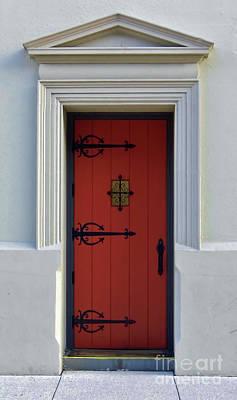 Photograph - The Red Door by D Hackett