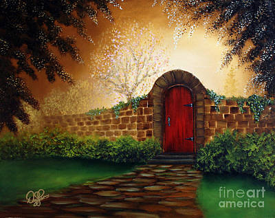 Painting - The Red Door by David Kacey