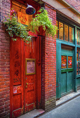 Photograph - The Red Door by Keith Boone