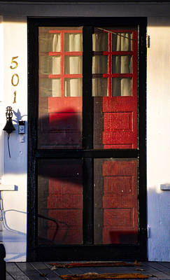 Photograph - The Red Door by Linda Brown