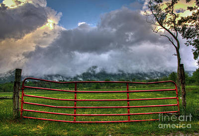 Photograph - The Red Gate by Douglas Stucky