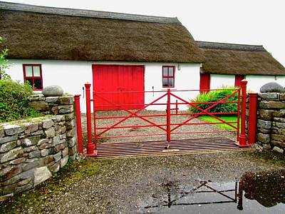 Photograph - The Red Gate by Stephanie Moore