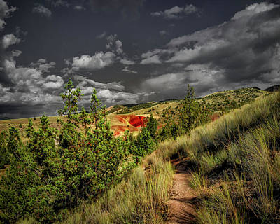 Photograph - The Red Hill by Hans Franchesco