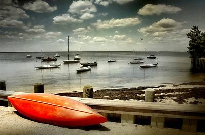 Photograph - The Red Kayak by Diana Angstadt