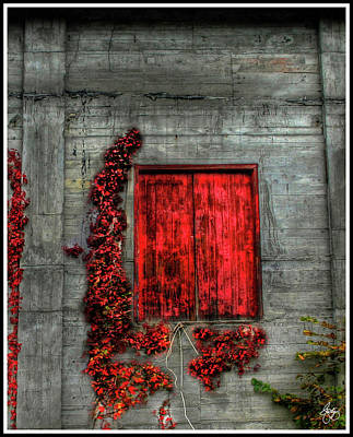 Photograph - The Red Loft by Wayne King