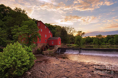 Photograph - The Red Mill by Cathy Alba