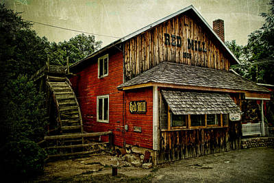 Photograph - The Red Mill by Joel Witmeyer