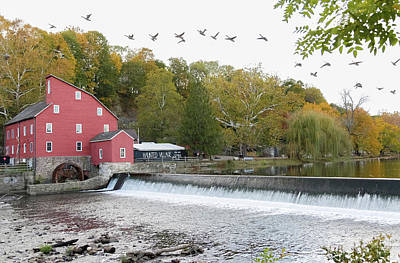 Photograph - The Red Mill by Kathleen McGinley